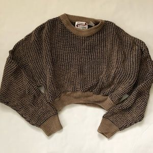 Urban outfitters renewal cropped vintage sweater